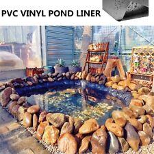 12.7*12.7'' Fish Pond Liner PVC Membrane Reinforced Gardens Pools Landscaping US