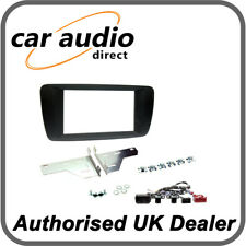 Connects2 CT23ST23 Seat Ibiza 2014> Black Double DIN Fascia