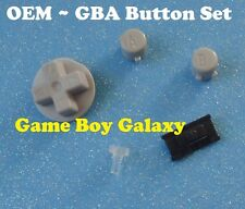 Genuine Nintendo Game Boy Advance BUTTONS SET A B Directional D-Pad gba ~ OEM