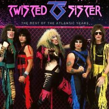 TWISTED SISTER THE BEST OF THE ATLANTIC YEARS CD (Greatest Hits)