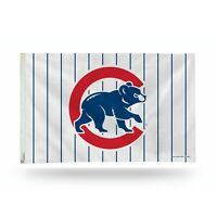 3x5 outdoor Flag - MLB Baseball - Chicago Cubs - Stripes
