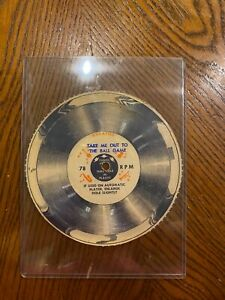 1950S WHEATIES CEREAL BOX RECORD: TAKE ME OUT TO THE BALL GAME