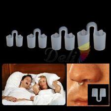 4 Taille Nouveaux bouchons de gel de silice Anti ronflement Apnée du sommeil