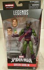 """Marvel Legends 6/"""" Ultimate Green Goblin baf vague chat noir loose complet"""