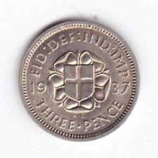 1937 George VI Threepence***Collectors***UNC***