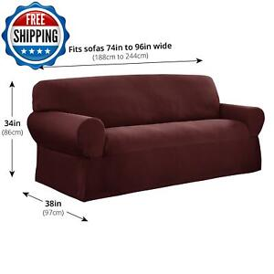 Elastic Slipcover Protector Sofa Couch Chair Seat Stretch Spandex 1-Piece