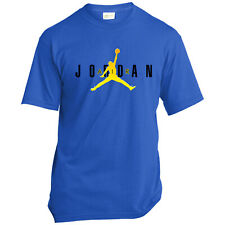 Black Air Jordan Flight Jumpman - Gildan Ultra Cotton Men's T-Shirt S-5XL