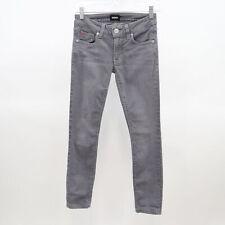 Hudson Jeans Krista Super Skinny Womens Crop Gray Denim W23 L26