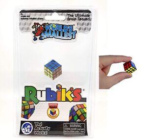 Worlds Smallest Rubiks Cube Brain Teaser Stress Relief