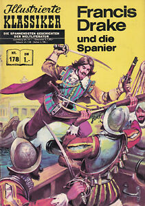 German Classics Illustrated #178, Francis Drake and the Spanish Main, HRN 138