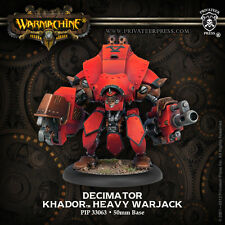 Warmachine - Khador - Decimator + Destroyer + Juggernaut + Marauder - PIP 33063