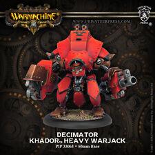 Warmachine - Khador - Decimator + Destroyer + Juggernaut + Marauder - PIP 33063