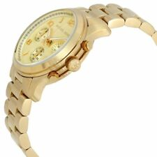 Michael Kors MK5055 Midsized Chronograph Gold-tone Unisex Watch