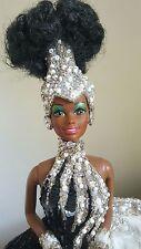 Brand New Starlight Splendor Brown Barbie by Bob Mackie Platinum
