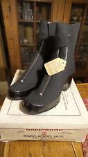 Antique Ball-Band Women'S Monopul Arctic Neva Boots Sz 6F Blk Cotton Jersey