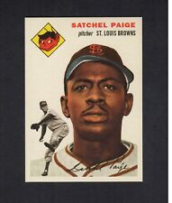 SATCHEL PAIGE, Browns | 1954 Topps 2007 GBSCC promotional Cards That Never Were