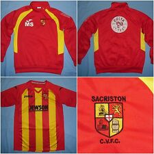 Sacriston CVFC / 2010's - JOMA - JUNIOR Jersey (shirt) + 2 tops. Size: XS, 14yrs