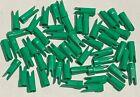 "50~ 9/32"" Green BOHNING Glue-On Speed Nocks~Traditional Recurve & Longbow Arrow"