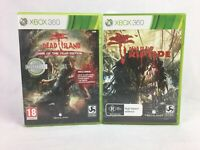 Dead Island Game Of The Year Edition & Riptide - With Manuals - XBOX 360 - PAL