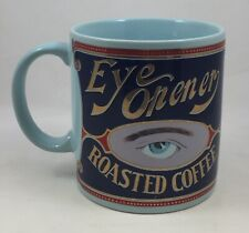 VTG 1989 Eye Opener Coffee Mug Fabled Labels Archives of Louisiana Trade Labels
