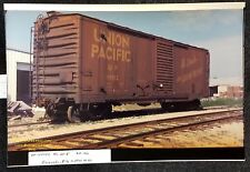 LMH Photo 1970 UNION PACIFIC  50' Boxcar BC 50-8 Combination Plug Door UP 110152