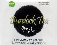 Korean Original Burdock Tea 20 Detox Tea bags for Weight loss Gobo Root Tea