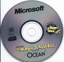 Microsoft Scholastic's The Magic School Bus Explores the Ocean Pc Cd