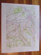 Oneida New York 1957 Original Vintage USGS Topo Map