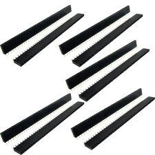 10 pcs 1x40 pin 2.54 mm pitch Straight Single Row PCB Female Pin headers BTS U3D7