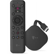 Telekom Magenta TV Stick schwarz Streaming-Stick leistungsstark 4K/Ultra HD/HDR