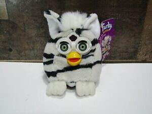 Furby Buddies Zebra (Hug More) 1999 Plush Bean Bag Tiger Electronic w/ Tag
