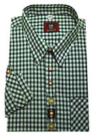 Trachtenhemd Freizeithemd Jagdhemd OS Trachten Gr 47//48 39//40 Hemd