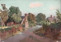 GEORGE GRAINGER SMITH 1892-1961 Watercolour Painting BROAD OAK KENT c1930