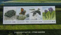 Denmark  2010 Nature Flora Landscape  Fauna  MNH Miniature sheet