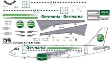 Germania Airbus A-319 decals for Revell 1/144 kit