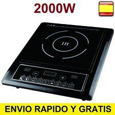 Placa Induccion 2000w cocina electrica portatil Vitroceramica Bravo Nippon