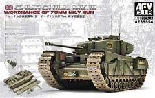 AFV Club AF35S54  - Churchill Mk III w/ QF 75mm MK V Tank - 1:35 Scale TANK NISB