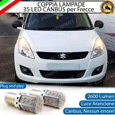 COPPIA LAMPADE PY21W BAU15S CANBUS 35 LED SUZUKI SWIFT 3 III FRECCE ANTERIORI