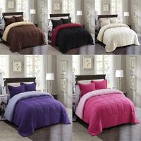 Down Alternative Comforter Set All Season Reversible Comforter Soft Breathable