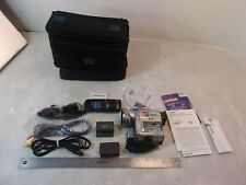 CANON OPTURA 100 MC DIGITAL VIDEO CAMERA W/ BAG AND EXTRAS NO CHARGER UNTESTED