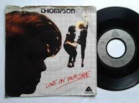 "Thompson Twins / Love On Your Side 7"" Vinyl Single 1983 mit Schutzhülle"