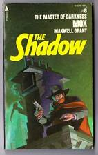 THE SHADOW #8 - MOX by Maxwell Grant  Jim Steranko cover 1975 Pyramid paperback