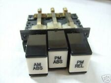 """""""AM/PM ABS PM REL"""" Switch Pushbutton 205-CS77-670 NEW"""