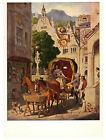 Moritz Von Schwind (1804-1871): Wedding Tour Rare Art Postcard