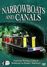 Narrowboats & Canals 3 DVD Set Working Living & Holidaying on Britains Waterways