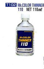 GSI Creos - Mr Hobby #T102 Mr. Color Paint Thinner 110ml Bottle