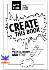 CREATE THIS BOOK - Moriah Elizabeth PAPERBACK *BRAND NEW*