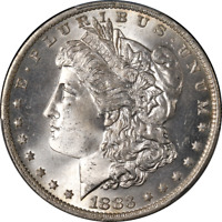 1883-O Morgan Silver Dollar PCGS MS66 Blast White Great Eye Appeal Strong Strike