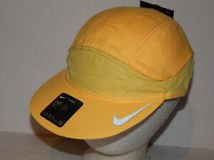 Nike Tailwind Dri-Fit Running Cap / Hat Strapback Yellow DC3633-848 Unisex