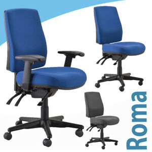 Buro seating Roma - Ergonomic Chair 3 lever HIGH Back  Professional